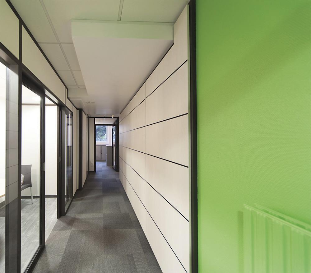 Blocs portes portes bois av aluminium - Double porte coulissante vitree ...